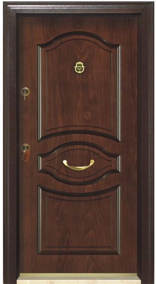 Metal Case + Rustic Walnut Panel