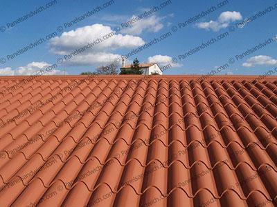 Cubierta teja para tejados