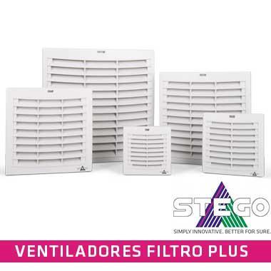 """La serie de Ventiladores con Filtro Plus utiliza una nueva tecnología """"air-flap"""" para la salida de aire alcanzando así un mayor flujo de aire."""
