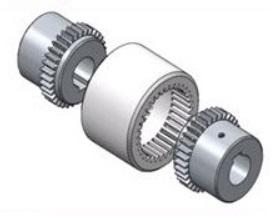 Flexible gear couplings, hubs made from sintered steel or steel, sleeve made from Nylon. All Standards available within 2-3 days.