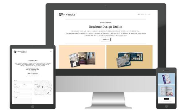 Brochure Website Design by BigNet Design Dublin