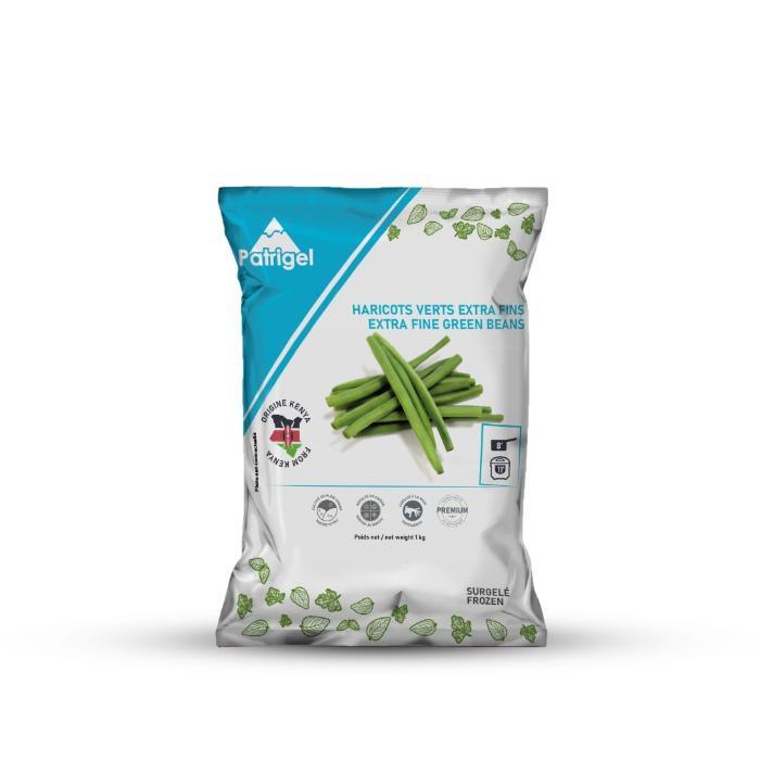 Haricots verts surgelés extra fins