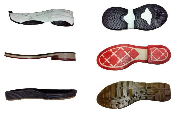 Moldes de solas para calçado - Bicolor (1)