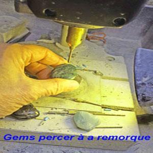 Gems percer à la remorque Vous avez une pierre préférée vous avez toujours voulu avoir un disciple? Parlez-nous, nous le ferons pour vous Pour porter une pierre sur un bracelet en cuir,