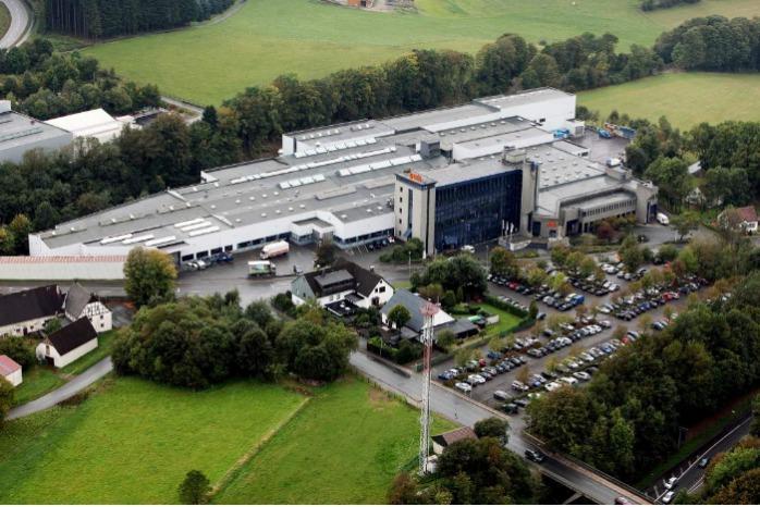 Luftbildaufnahme Standort Meinerzhagen