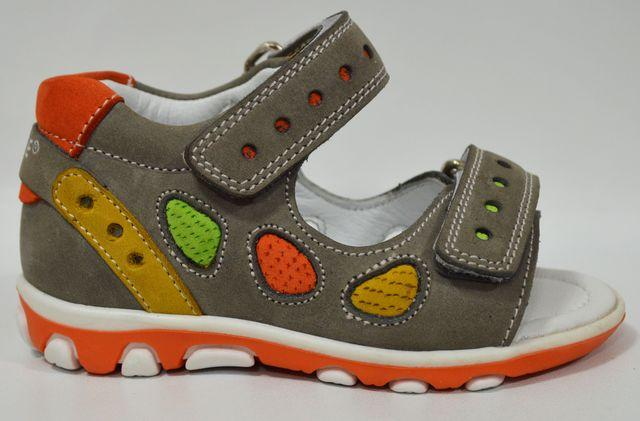leather orthopedic boys sandals