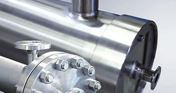 Druckrohre für Membranen