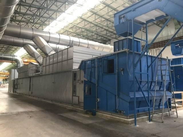 Dryer machine for fraction waste paper and plastic