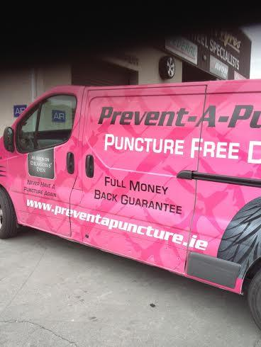 Prevent-A-Puncture Mobile Install Van