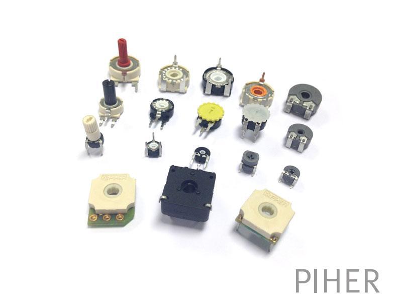 Contacting potentiometers. Sensores potenciométricos.