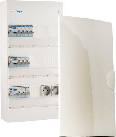 Remplacement de vieux tableaux électriques par des tableaux modernes et aux normes NFC15-100