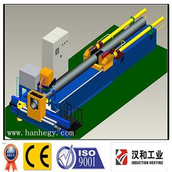 intermediate frequency induction heating pipe bending machine
