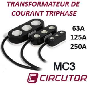 Bloc TI triple en version 63A, 125A ou 250A