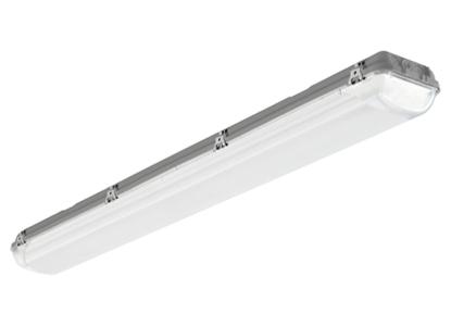 Diese innovative Beleuchtung ist in 2 Versionen erhältlich: als Leuchtstofflampe oder LED. Ihre Struktur ist stabil (IK08 zertifiziert), kompakt und beständig gegen korrosive Industrie-Umgebungen.