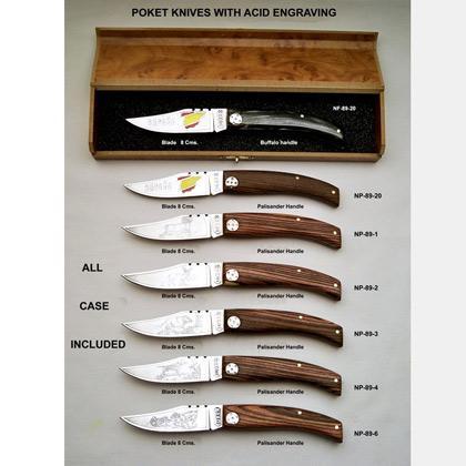 Cuchillería para usos domésticos y profesionales