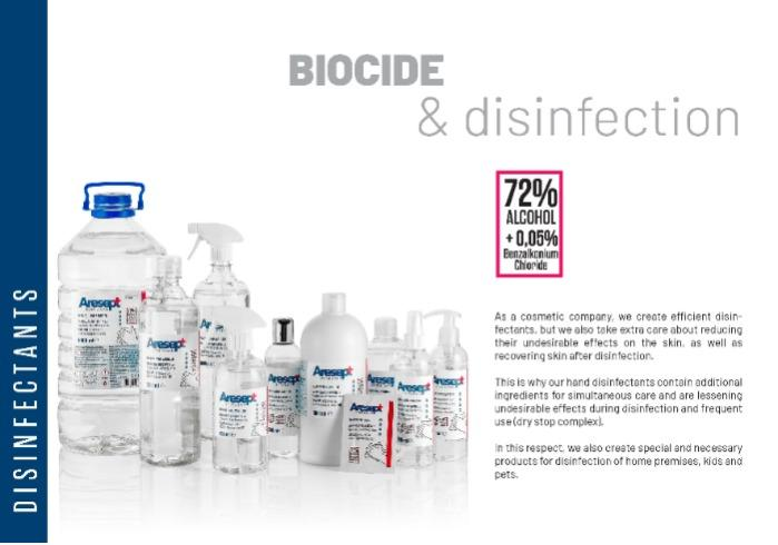 PRMS Sanitizers & Anti Bacterial cleaning solutions