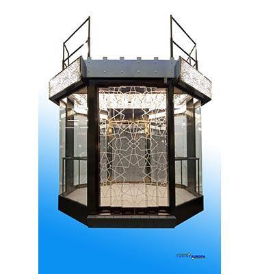 CABINE EUROPA - REBO SRL  produce cabine per ascensori con design moderni e personalizzati per il cliente.