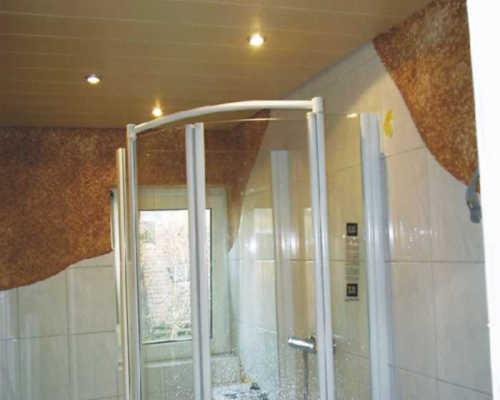 Revêtements muraux écologiques pur salle de bains
