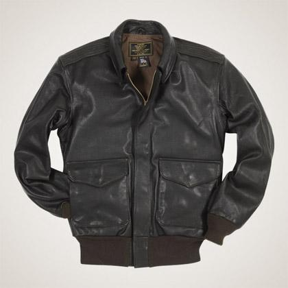 Cockpit USA's USAF 21st Century A-2 Jacket proudly made in the USA of goatskin leather. Inspired by the originals worn during WWII.