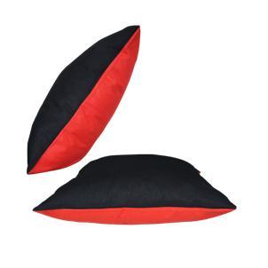 Mit seinem stilvollen Look passt dieser Wende-Kissen zu jeder Einrichtung. Die Unifarbige Baumwolle Wende-Kissen überzeugen mit gemütlicher und stylischer Farbgebung. In verschiedene Farben und Größen