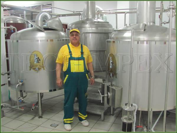 Microbrewery or mini brewery Blonder Beer