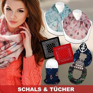 Fashionable scarves and shawls, bandanas and multifunctional towels