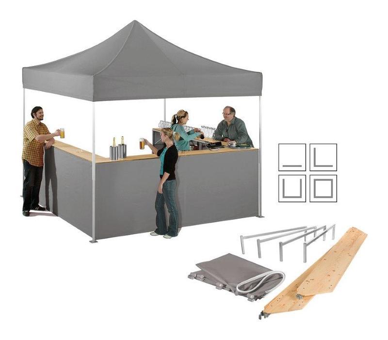 flex tent bar