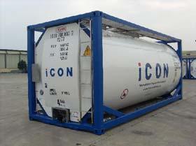20′ Tankcontainer Full Frame T11 UN Portable Tank x 20 x 8′ x 8'6″