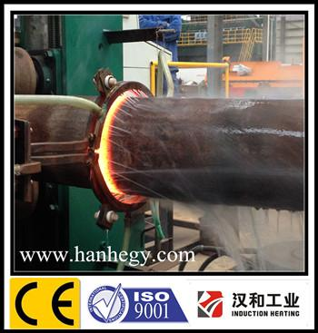heating pipe bending machine for roll tube