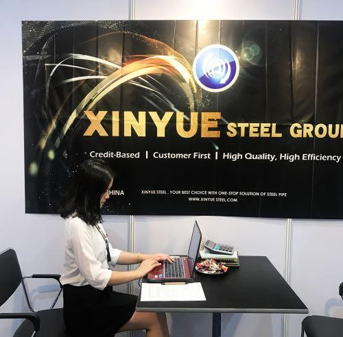 Xinyue Steel Has Attended Thailand Exhibition on August,2017