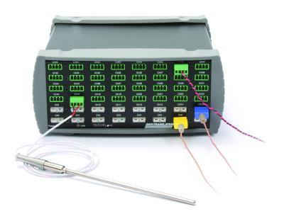 Die Geräte mit Ethernet-Anschluss kombinieren eine simultane Datenerfassung (A/D-Wandler pro Kanal) mit einer hohen digitalen Auflösung von 24 Bit.