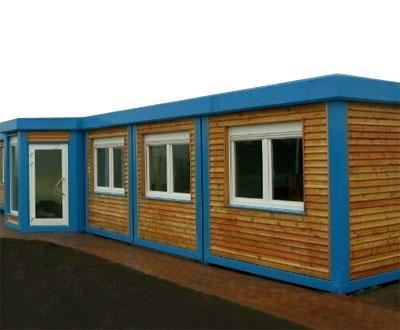 Holz - Aussenfassade