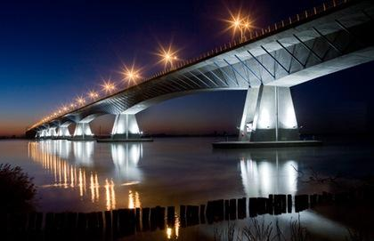 Portugal – Viaduct over Ribeira de Muge.