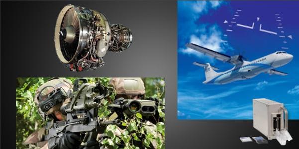 Bancs de test Silvercrest, Moteurs CFM & GE, Train d'atterrissage, Gestion des données de vols (Auxiliary flight data acquisition & management unit), Maintenance, Aviation légère Véhicules blindés