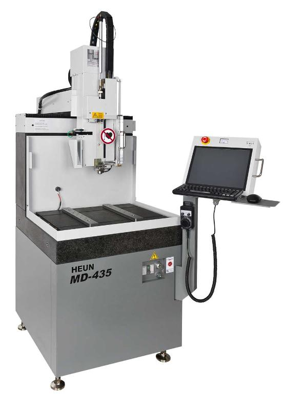 - Microbohrungen in Hartmetall und Stahl - Elektrodendurchmesser von 0,08 mm bis 3,00 mm - mit und ohne Ölbad gesteuert
