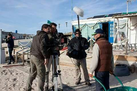Sea of men crew : Manuel Muñoz (director ), Mauro Herce (D. O. P. ) and Joaquín Pachón (sound engineer)