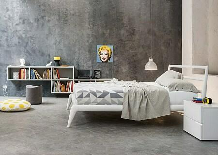 Wooden Bed Collection: VICTOR