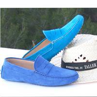 Mocasín Azul Acuatico y Azul Simbad