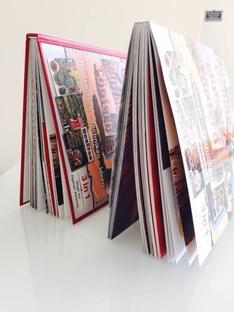 Demandez votre livre/catalogue à couverture souple et vous l'obtiendrez à couverture rigide au meme prix