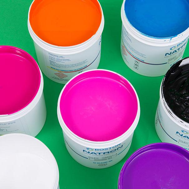 Natron SE Silicone inks