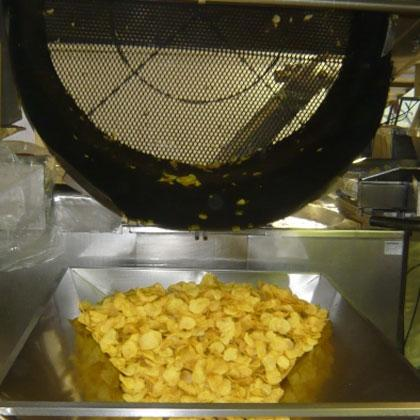 Fábrica de patatas fritas