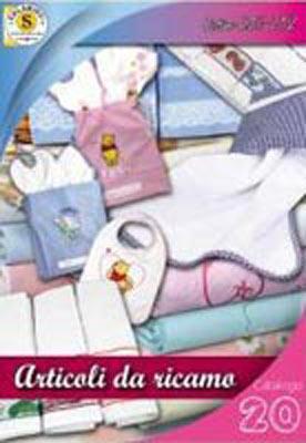 MERCERIA SALAMINO Asciugamani strofinacci set bagno da ricamare, bavette e set a