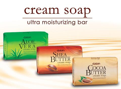 Dalan cream soap