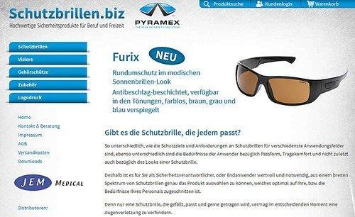 Webshop schutzbrillen.biz