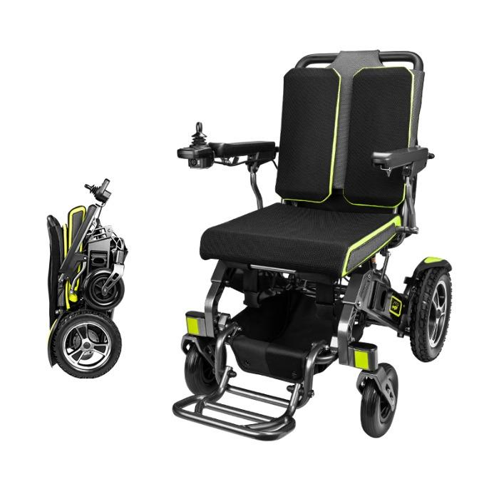 Travel Lightweight Folding Electric Wheelchair