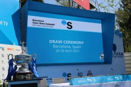 Stereorent is the official supplier of the tournament providing all AV equipment including 5 LED screens, 3 speed clocks and 7 scoreboards of time, and over 40 plasma screens scattered throughout.