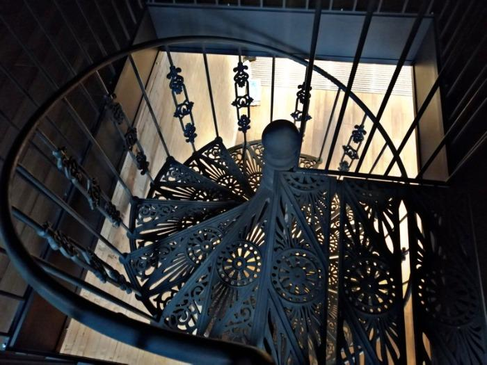 Production of spiral cast iron stairs