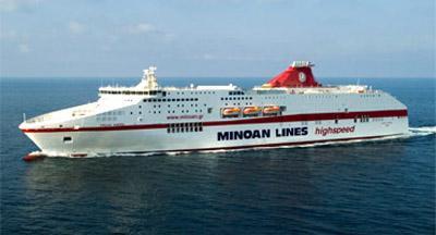 MINOAN LINES NAVE foto
