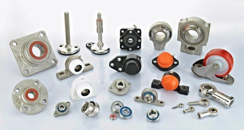 Hygienic machinery parts