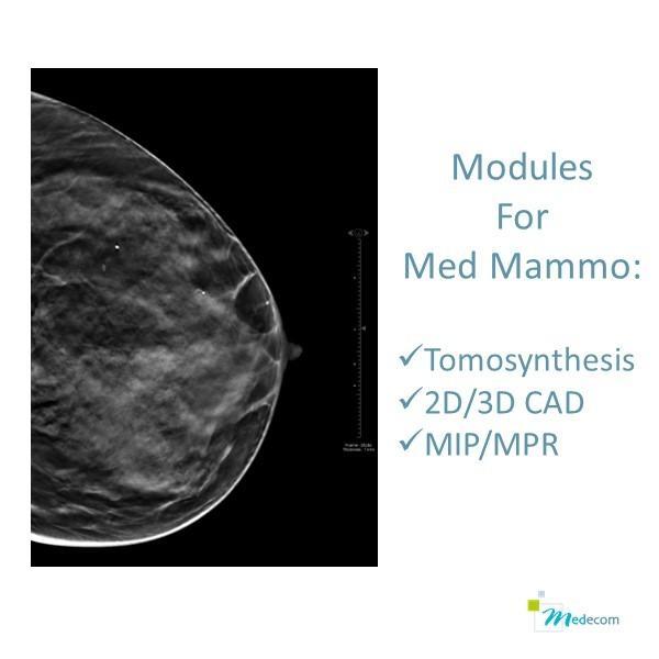 Module de Tomosynthèse - CAD - MIP/MPR